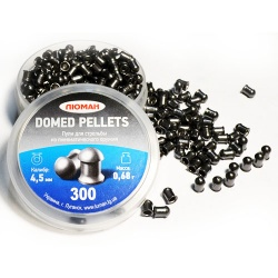 Пули «Люман» Domed pellets, 0,68 г. по 300 шт.